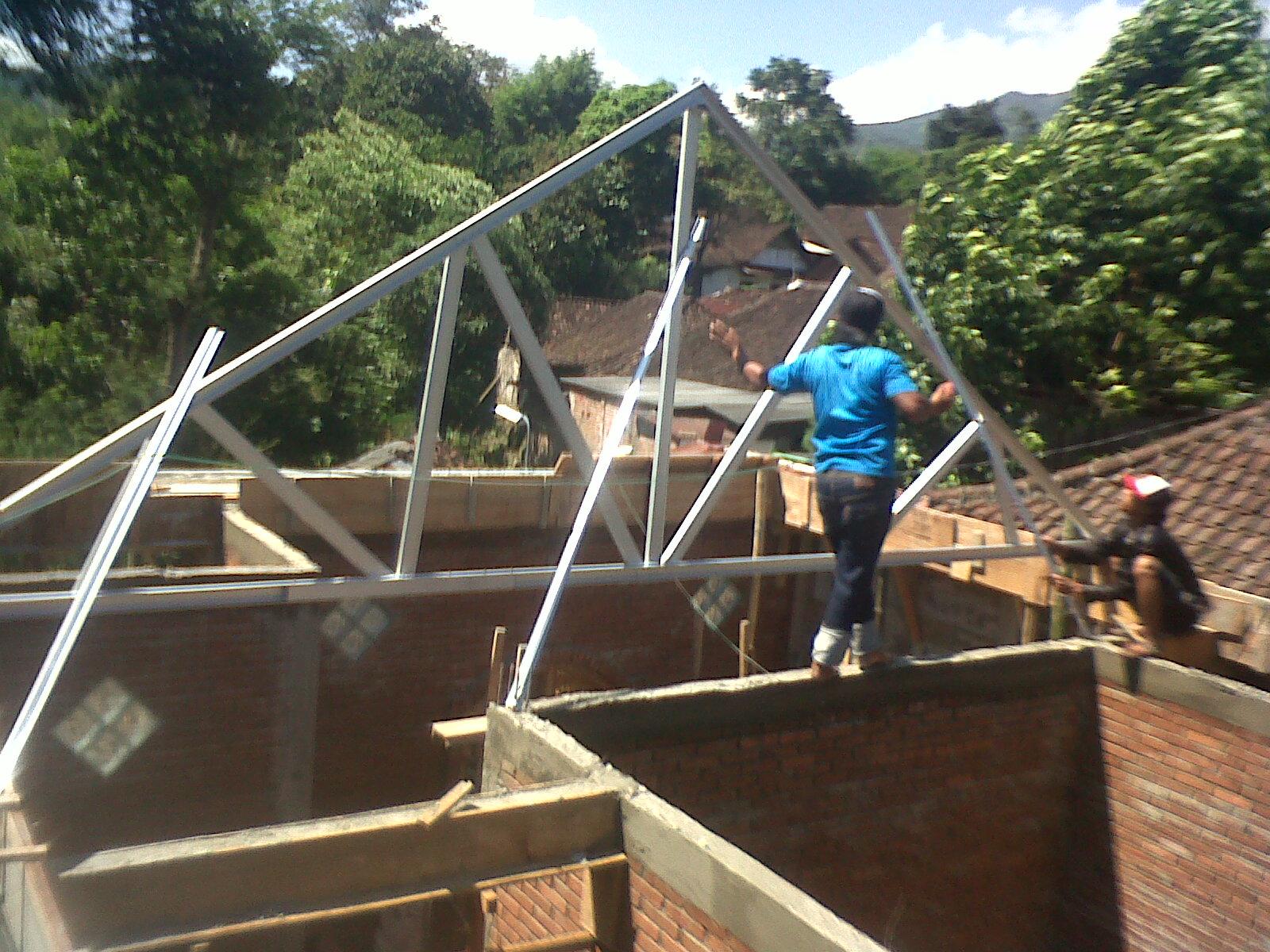 pasang atap irangkai ibajai iringani ikanopii harga atap ibajai